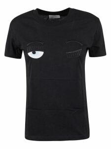 Chiara Ferragni Wink Embroidery T-shirt