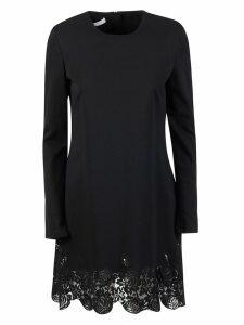 Philosophy di Lorenzo Serafini Floral Lace Detail Dress