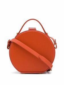 Nico Giani round leather tote - Brown