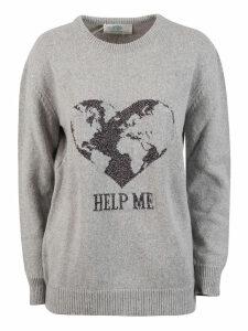 Alberta Ferretti Help Me Knit Oversized Sweater