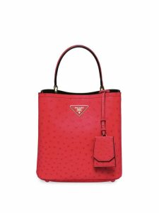 Prada panier tote bag - Red