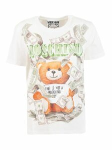 Moschino Cash This Is Not A Toy Bear Print T-shirt