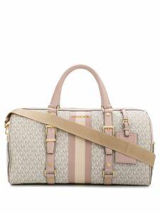 Michael Michael Kors logo print luggage bag - Pink