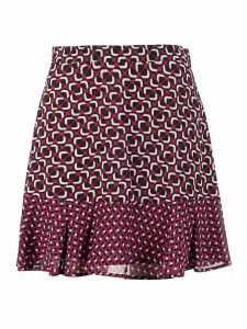 MICHAEL Michael Kors Printed Mini Skirt