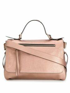 Red Valentino RED(V) metallic shoulder bag - Pink
