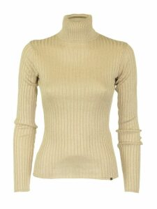 Elisabetta Franchi Celyn B. Light Gold Tricot Top