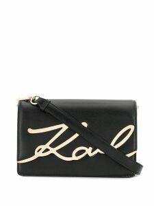 Karl Lagerfeld K/Signature shoulder bag - Black