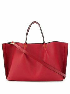 Valentino Valentino Garavani VLOGO Escape shopper tote - Red