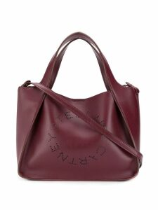 Stella McCartney Stella logo tote bag - Red