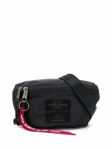 Eastpak logo embroidered belt bag - Black