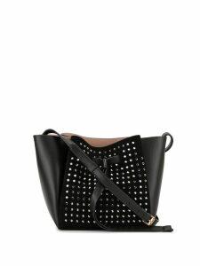 Nº21 studded bucket bag - Black