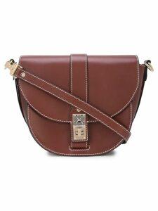 Proenza Schouler PS11 Medium Saddle Bag - Brown