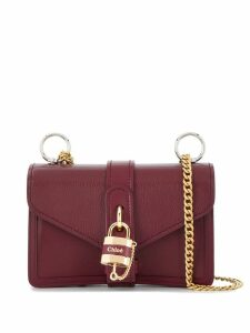 Chloé Aby chain shoulder bag - Red