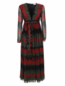 Multicolor Technical Fabric Dress