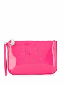 Kenzo embossed Tiger clutch - Pink