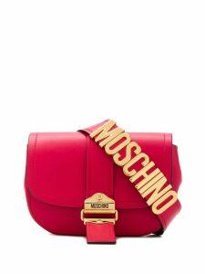Moschino logo plaque belt bag - Pink