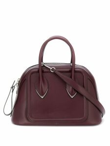 Alexander McQueen zip-around tote bag - Red