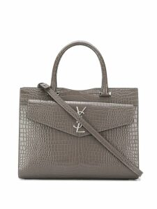 Saint Laurent Uptown tote bag - Grey
