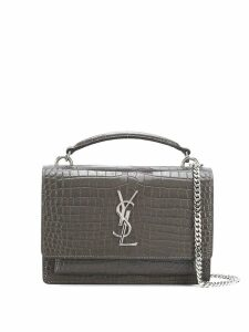 Saint Laurent Sunset cross body bag - Grey