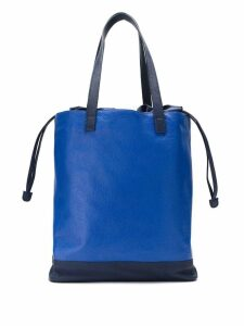 Mara Mac leather tote bag - Blue