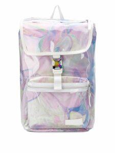 Eastpak transparent backpack - Pink
