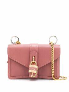 Chloé Aby padlock shoulder bag - Pink