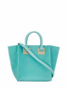 Sophie Hulme Albion Cube tote bag - Blue