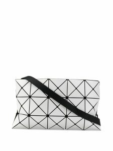 Bao Bao Issey Miyake geometric panelled clutch - Grey
