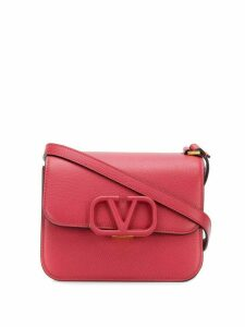 Valentino Valentino Garavani small VRING crossbody bag - Red