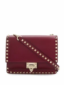 Valentino Valentino Garavani Rockstud shoulder bag - Red