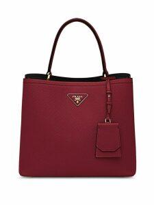 Prada panier tote bag - Red