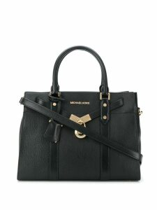 Michael Michael Kors Nouveau Hamilton large satchel - Black