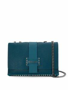 Marc Ellis studded details shoulder bag - Blue