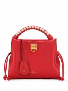 Mulberry small Iris heavy grain tote bag - Red