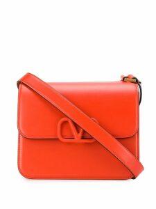 Valentino Valentino Garavani VLOGO shoulder bag - Orange
