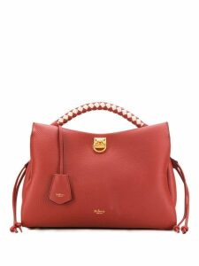 Mulberry Iris heavy grain tote bag - Red