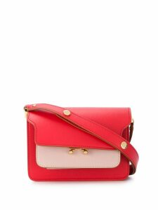 Marni small Trunk shoulder bag - Red