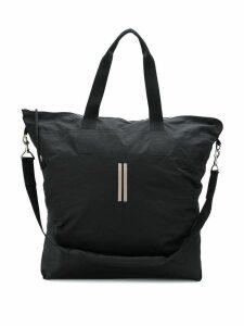 Rick Owens DRKSHDW logo detail shoulder bag - Black
