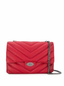 Marc Ellis quilted effect shoulder bag - Red
