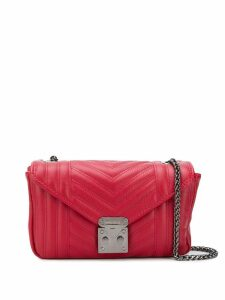 Marc Ellis small quilted shoulder bag - Red