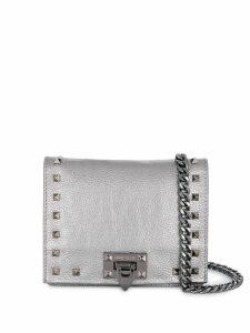 Marc Ellis studded shoulder bag - Silver
