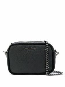 Marc Ellis logo plaque shoulder bag - Black