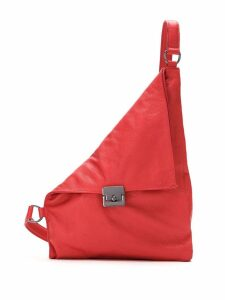 Mara Mac leather crossbody bag - Red