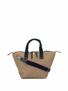 Cabas small Bowler bag - Brown