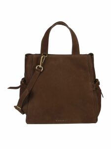 Orciani Logo Shoulder Bag