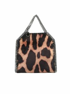 Stella McCartney Leopard Print Falabella Tiny Bag