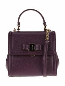 Salvatore Ferragamo Vara Bow Detail Crossbody Bag