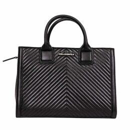 Karl Lagerfeld K/klassik Quilted Tote Bag