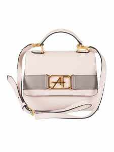 Alberta Ferretti Logo Plaque Shoulder Bag