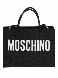Moschino Glitter Shopping Bag